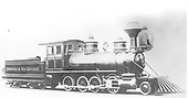 Builder's photo of D&amp;RG #33 &quot;Silver Cliff&quot; at Baldwin Locomotive Works.<br /> D&amp;RG  Philadelphia, PA  Taken by , Baldwin Locomotive Works - 1879