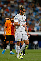Real Madrid´s Welsh forward Gareth Bale lamenting