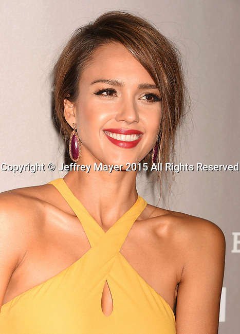 CULVER CITY, CA - NOVEMBER 14: Actress Jessica Alba attends the 2015 Baby2Baby Gala presented by MarulaOil & Kayne Capital Advisors Foundation honoring Kerry Washington at 3LABS on November 14, 2015 in Culver City, California.