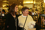 "Days - Kristen Alfonso with jewelry line Hope - Faith - Miracles on November 29, 2008 at Bloomingdales, New York City, New York. ""The fleur de lis has been the symbol of my inspiration. It has brought me hope and the faith to believe in miracles."" Kristen with fan. (Photo by Sue Coflin/Max Photos)"