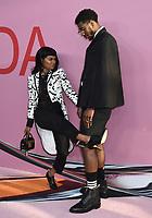 03 June 2019 - New York, New York - Teyana Taylor and Iman Shumpert. 2019 CFDA Awards held at the Brooklyn Museum. <br /> CAP/ADM/LJ<br /> ©LJ/ADM/Capital Pictures