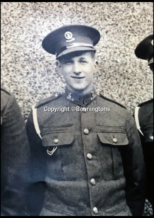 BNPS.co.uk (01202 558833)<br /> Pic: Bonningtons/BNPS<br /> <br /> Trooper Moreton joined the 15/19th Kings Royal Hussars in 1936.<br /> <br /> The amazing story of a fearless soldier who escaped from the Nazis eight times during five years as a POW including once to save a dying friend's life can be told after his bravery medals emerged for sale.<br /> <br /> Trooper Thomas Moreton, of the 19th King's Royal Hussars, was held captive at the notorious Stalag XXB in East Prussia after being captured during the Battle of France in May 1940.<br /> <br /> The tank driver was part of a defiant rearguard helping to buy time for the mass evacuation of British Expeditionary Force soldiers at Dunkirk.<br /> <br /> After being recaptured following one of his escapes, he twice went in front of a Gestapo firing squad but emerged unscathed. On another occasion, he broke out of camp to find a doctor who would tend to his gravely ill comrade as he was being denied treatment by the camp guards.