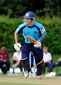 Scotland V Afghanistan, One Day International, at New Cambusdoon, Ayr - Scots batsman Fraser Watts once again underpinned the home batting attack - Picture by Donald MacLeod 17.08.10 - mobile 07702 319 738 - clanmacleod@btinternet.com