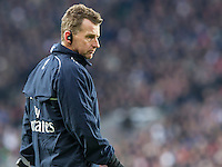 Nigel Owens assisstant referee, England v Ireland in a 6 Nations match at Twickenham Stadium, Whitton Road, Twickenham, England, on 27th February 2016