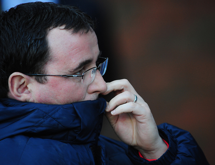 Blackburn Rovers manager Gary Bowyer <br /> <br /> Photographer Chris Vaughan/CameraSport<br /> <br /> Football - The Football League Sky Bet Championship - Blackburn Rovers v Blackpool - Saturday 21st February 2015 - Ewood Park - Blackburn<br /> <br /> &copy; CameraSport - 43 Linden Ave. Countesthorpe. Leicester. England. LE8 5PG - Tel: +44 (0) 116 277 4147 - admin@camerasport.com - www.camerasport.com