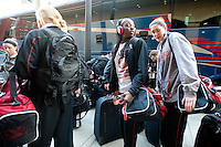 SPOKANE, WA - MARCH 24, 2011: Stanford Women's Basketball, NCAA West Regionals on March 24, 2011.