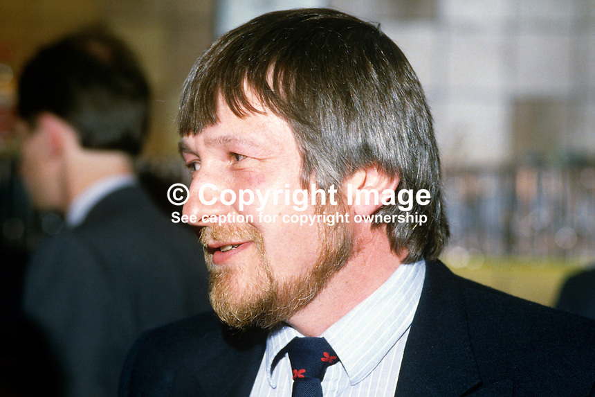 Roy Reeves, senior civil servant, N Ireland Office, Stormont Castle, Belfast, N Ireland, UK, 19840066RR..Copyright Image from Victor Patterson, 54 Dorchester Park, Belfast, UK, BT9 6RJ..Tel: +44 28 9066 1296.Mob: +44 7802 353836.Voicemail +44 20 8816 7153.Skype: victorpattersonbelfast.Email: victorpatterson@me.com.Email: victorpatterson@ireland.com (back-up)..IMPORTANT: If you wish to use this image or any other of my images please go to www.victorpatterson.com and click on the Terms & Conditions. Then contact me by email or phone with the reference number(s) of the image(s) concerned.