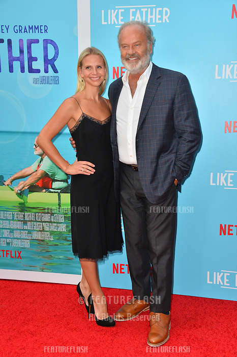 Kelsey Grammer &amp; Kayte Walsh at the Los Angeles premiere of &quot;Like Father&quot; at the Arclight Theatre, Los Angeles, USA 31 July 2018<br /> Picture: Paul Smith/Featureflash/SilverHub 0208 004 5359 sales@silverhubmedia.com