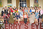 Ladies from St Brigid's Presentation Secondary School, Killarney who held their 40th anniversary reunion in the Malton Hotel Killarney on Saturday night front row l-r: Eileen Fitzgearald, Mona Ryan, Cait Moriarty, Marian Buckley, Doreen Foran, Pauline O'Sullivan, Joan O'Riordan, Mary O'Mahony. Back row: Catherine McGuire, Grace O'Sullivan, sally O'Connor, Kathleen O'Sullivan, Kathleen Quirke, Joan Daly, Joan Daly (correct), Marian Keane, Michele (correct) Coghlan, Maura o'Sullivan, Sheila Moynihan, Mary McCarthy, Sheila O'Shea, Eileen McNeice, Pauline O'Sullivan, Kathleen Horan, Mary Galvin, Ursula O'Regan, Breda O'Mahony and Elizabeth O'Donovan........
