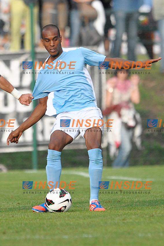 Abdoulay Konko Lazio.Auronzo di Cadore 25/7/2012.Football Calcio 2012 / 2013 .Amichevole Friendly Match.SS Lazio Vs AC Siena.Foto Insidefoto.