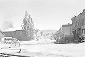 View of East 5th Street in Durango from tracks.<br /> D&amp;RGW  Durango, CO  Taken by Small, Charles S. - 7/1941