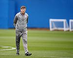24.09.2019 Rangers training: Steven Gerrard