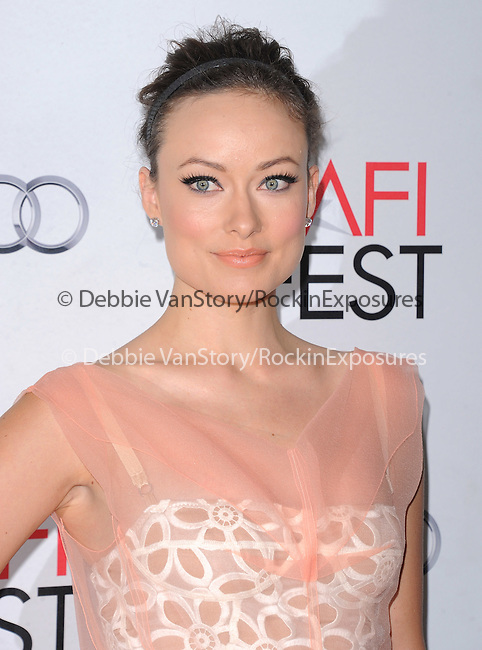 Olivia Wilde at The AFI FEST 2011 - BUTTER Special Screening held at The Grauman's Chinese Theatre in Hollywood, California on November 06,2011                                                                               © 2011 Hollywood Press Agency