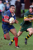 S. Petelo. Counties Manukau Premier Club Rugby, Pukekohe v Ardmore Marist played at the Colin Lawrie field, on the 27th of May 2006.Ardmore Marist won 22 - 6
