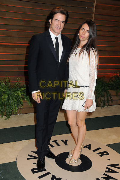 02 March 2014 - West Hollywood, California - Dermot Mulroney, Tharita Catulle. 2014 Vanity Fair Oscar Party following the 86th Academy Awards held at Sunset Plaza. <br /> CAP/ADM/BP<br /> &copy;Byron Purvis/AdMedia/Capital Pictures