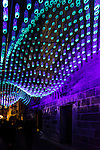Vivid 2016 Fesitval light walk in Sydney, Australia