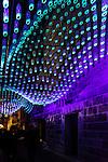Vivid 2016 Fesitval light walk in Sydney, Australia