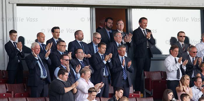 25.08.2019 St Mirren v Rangers: Rangers directors