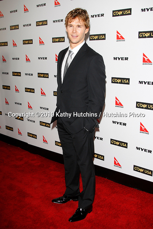 Ryan Kwanten.arriving at the G'Day USA 2010 Los Angeles Black Tie Gala.Hollywood & Highland.Los Angeles, CA.January 16, 2010.©2010 Kathy Hutchins / Hutchins Photo....