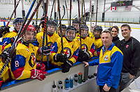Brandon Biggers, of Sarnia, is now a Grade 8 teacher in Iqaluit, the capital of Nunavut. He is one of two coaches with Team Nunavut, a young hockey club which will make it's entry into competitive hockey at the Canada Games  in 2019 in Red Deer Alberta. The team made it's first organized road trip to Sarnia last week to play exhibition hockey with Sarnia Sting minor midget teams.