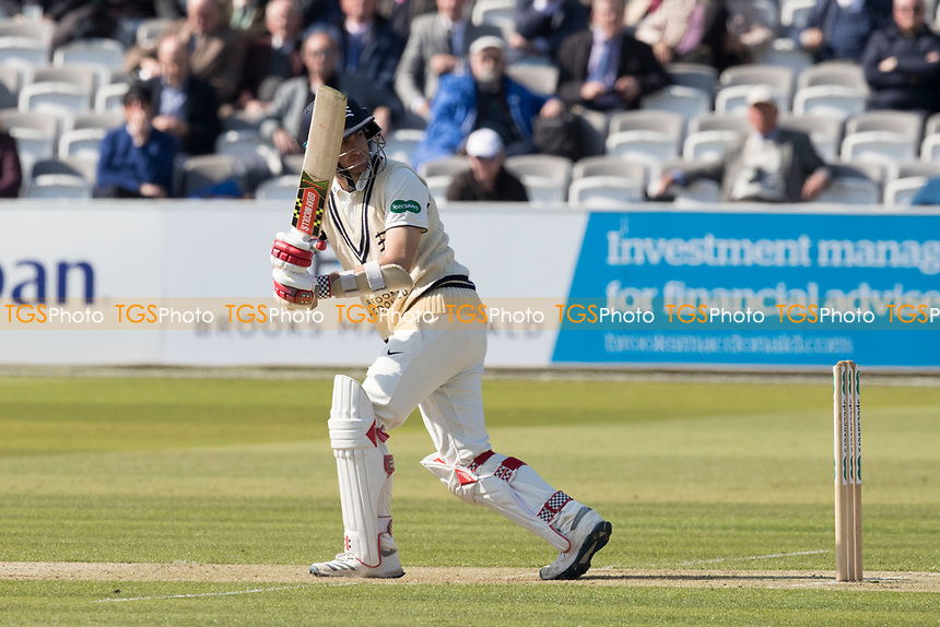 Stephen Eskinazi of Middlesex CCC attempts to flicks the ball to leg and survives a caught behind appeal during Middlesex CCC vs Lancashire CCC, Specsavers County Championship Division 2 Cricket at Lord's Cricket Ground on 11th April 2019