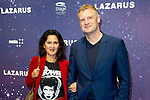 Premiere musical  David Bowie's Lazarus in DeLaMar, Amsterdam.<br /> <br /> Op de foto:  Bart Oomen