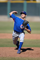 Chicago Cubs pitcher Trey Masek (74) during an Instructional League game against the San Francisco Giants on October 18, 2013 at Giants Baseball Complex in Phoenix, Arizona.  (Mike Janes/Four Seam Images)
