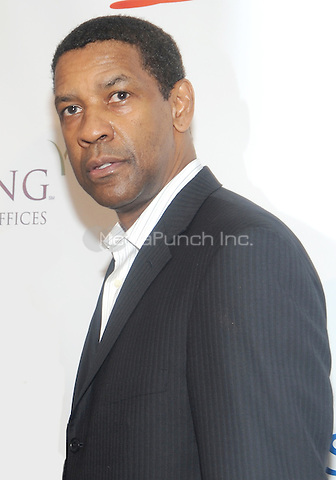 New York, NY- May 16: Denzel Washington  attends the 80th Annual Drama League Awards Ceremony and luncheon at the Marriot Marquis Times Square on May 16, 2014 in New York City. Credit: John Palmer/MediaPunch