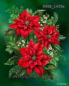 Dona Gelsinger, CHRISTMAS SYMBOLS, paintings+++++,USGE1439A,#xx#