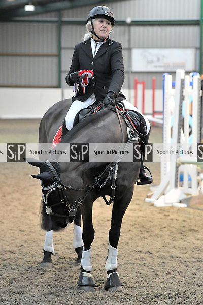 Class 4. Unaffiliated showjumping. Brook Farm Training Centre. Essex. UK. 06/01/2019. ~ MANDATORY Credit Garry Bowden/Sportinpictures - NO UNAUTHORISED USE - 07837 394578