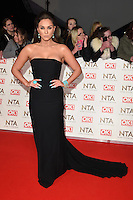 Vicky Pattinson<br /> at the National TV Awards 2017 held at the O2 Arena, Greenwich, London.<br /> <br /> <br /> &copy;Ash Knotek  D3221  25/01/2017