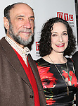F. Murray Abraham, Bebe Neuwirth  attending the Opening Night Party for the Manhattan Theatre Club's 'Golden Age' at Beacon Restaurant in New York City on December 4, 2012.