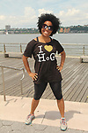 Another World's Rhonda Ross at and supports Hearts of Gold Run/Walk for Kids 2018 join with kids and their moms in New York City, New York. After the walk they did tug of war, hop scotch, card games, exercise, food, a fun day on the pier. (Photo by Sue Coflin/Max Photo)