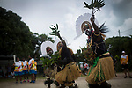 Traditional dancers performing at a community celebration as the Queen's Baton Relay visited Hammond Island. In the host state of Queensland the Queen's Baton will visit 83 communities from Saturday 3 March to Wednesday 4 April 2018. As the Queen's Baton Relay travels the length and breadth of Australia, it will not just pass through, but spend quality time in each community it visits, calling into hundreds of local schools and community celebrations in every state and territory. The Gold Coast 2018 Commonwealth Games (GC2018) Queen's Baton Relay is the longest and most accessible in history, travelling through the Commonwealth for 388 days and 230,000 kilometres. After spending 100 days being carried by approximately 3,800 batonbearers in Australia, the Queen's Baton journey will finish at the GC2018 Opening Ceremony on the Gold Coast on 4 April 2018.
