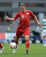 Fussball 1. Bundesliga :  Saison   2012/2013   1. Spieltag  25.08.2012 SpVgg Greuther Fuerth - FC Bayern Muenchen Bastian Schweinsteiger (FC Bayern Muenchen)