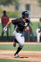 Chicago White Sox Aaron Schnurbusch (20) during an Instructional League game against the San Francisco Giants on October 10, 2016 at the Camelback Ranch Complex in Glendale, Arizona.  (Mike Janes/Four Seam Images)