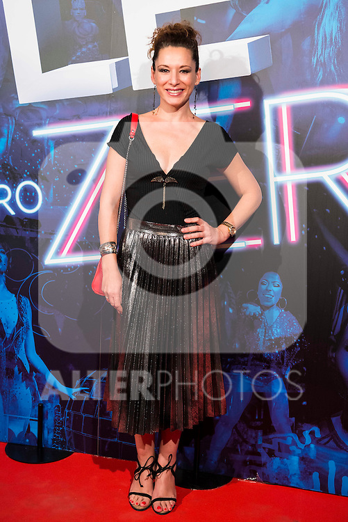Eva Almaya attends to the premiere of the The Hole Zero Show at Teatro Calderon in Madrid. October 04, 2016. (ALTERPHOTOS/Borja B.Hojas)