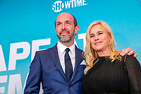 "NEW YORK - NOVEMBER 14:  Eric Lange and Patricia Arquette attend the premiere of Showtime's limited series ""Escape at Dannemora"" at Alice Tully Hall in Lincoln Center on November 14, 2018 in New York City. attends the premiere of Showtime's limited series ""Escape at Dannemora"" at Alice Tully Hall in Lincoln Center on November 14, 2018 in New York City. (Photo by Kena Betancur/Showtime/PictureGroup)"
