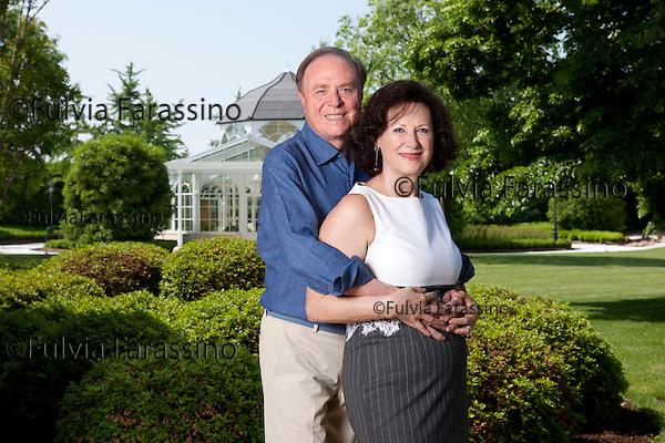 11 maggio 2012 Tombolo (PD) casa di Ennio Doris e moglie Lina