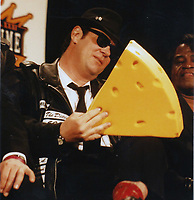 Blues Brothers6030.JPG<br /> <br /> 1997 <br /> John Goodman, James Belushi,<br /> Dan Aykroyd, James Brown 1997<br /> Photo to By John Barrett-PHOTOlink.net/MediaPunch