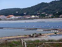 GIU 2010 Sardegna,  Isola di San Pietro, saline.JUN 2010 Sardinia,  San Pietro Island, salinas