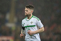 Oliver Norwood of Northern Ireland during the International Friendly match between Wales and Northern Ireland at Cardiff City Stadium, Cardiff, Wales on 24 March 2016. Photo by Mark  Hawkins / PRiME Media Images.