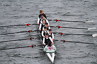 Crew: 131  Becket RC  Event: Girls CHAMP eights<br /> <br /> Schools' Head of the River 2017<br /> <br /> To purchase this photo, or to see pricing information for Prints and Downloads, click the blue 'Add to Cart' button at the top-right of the page.