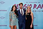 "Sergio Ramos, Pilar Rubio and Georgia Brown attends to ""El Corazon De Sergio Ramos"" premiere at Reina Sofia Museum in Madrid, Spain. September 10, 2019. (ALTERPHOTOS/A. Perez Meca)"