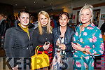 Clare and Ciara Culloty, Denise McGrath and Ann Marie Allen attending the screening of Kilamanjaro Mama in Siamsa Tire on Thursday,