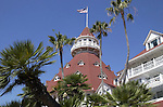 "Hotel del Coronado ""The Del,"" across San Diego Bay Coronado California, California Fine Art Photography by Ron Bennett,"