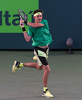 KYLE EDMUND (GBR)<br /> <br /> MIAMI OPEN, CRANDON PARK, KEY BISCAYNE, FLORIDA, USA<br /> <br /> &copy; TENNIS PHOTO NETWORK
