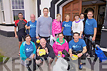 Taking part in the round Beginish Swim on Saturday last were front l-r; Siobhan Ui? Dhonnchu?, Alan 'Scully' O'Sullivan, Elaine Keating, Ger O'Shea, back l-r; Ian Guiney, Vincent Kidd, Mike Keating, Noetta Clifford, Angela O'Shea, Loreto O'Neill, Fiona O'Neill & J.J. Coffey.