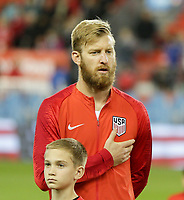 TORONTO, ON - OCTOBER 15: Tim Ream #13 of the United States during a game between Canada and USMNT at BMO Field on October 15, 2019 in Toronto, Canada.