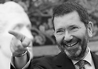 Il sindaco di Roma Ignazio Marino presenta la nuova giunta in Campidoglio, Roma, 28 luglio 2015.<br /> Rome's Mayor Ignazio Marino gestures during the presentation of his new City Council at the Capitol hill, Rome, 28 July 2015.<br /> UPDATE IMAGES PRESS/Riccardo De Luca